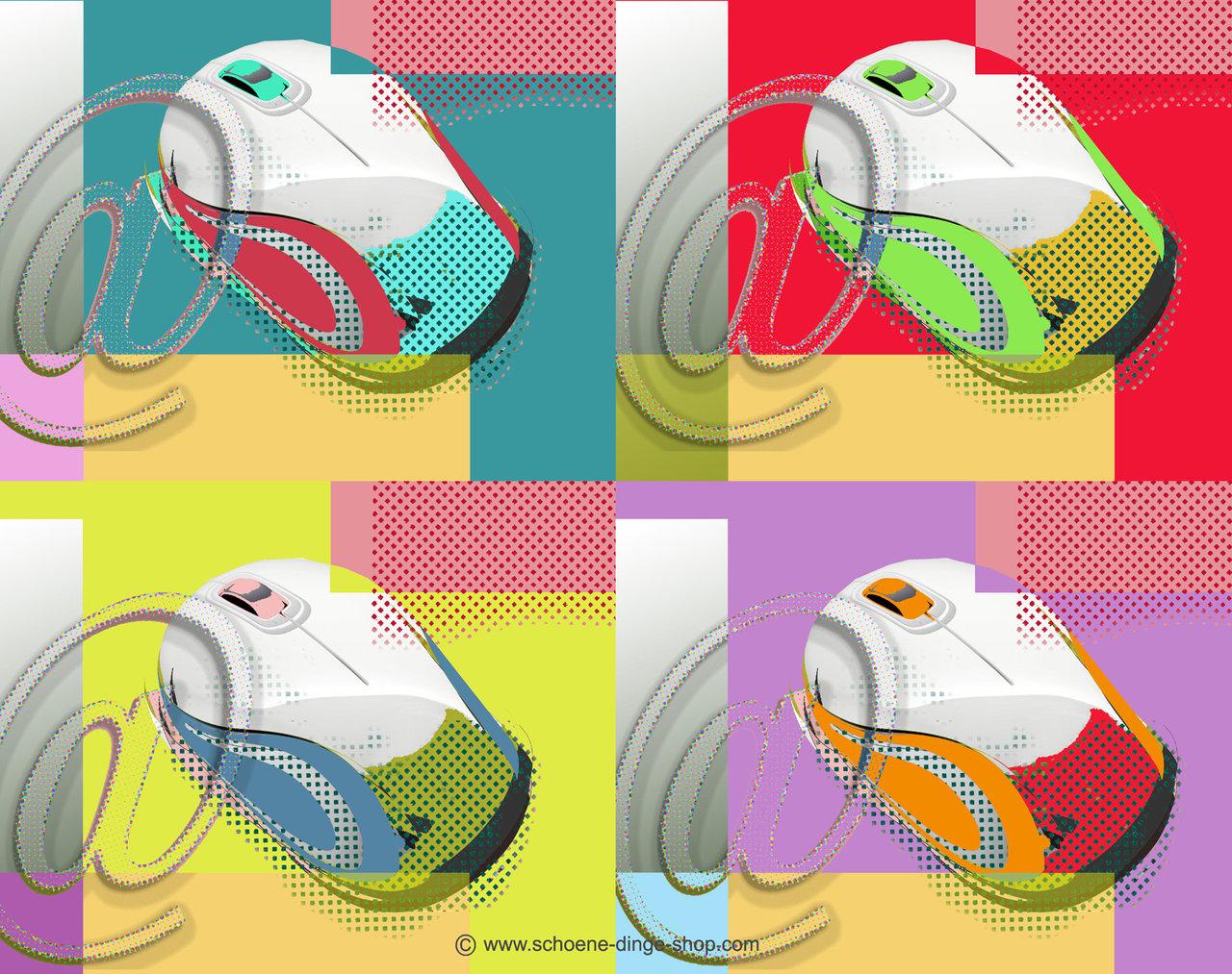 pop art mousepad sch ne dinge shop. Black Bedroom Furniture Sets. Home Design Ideas