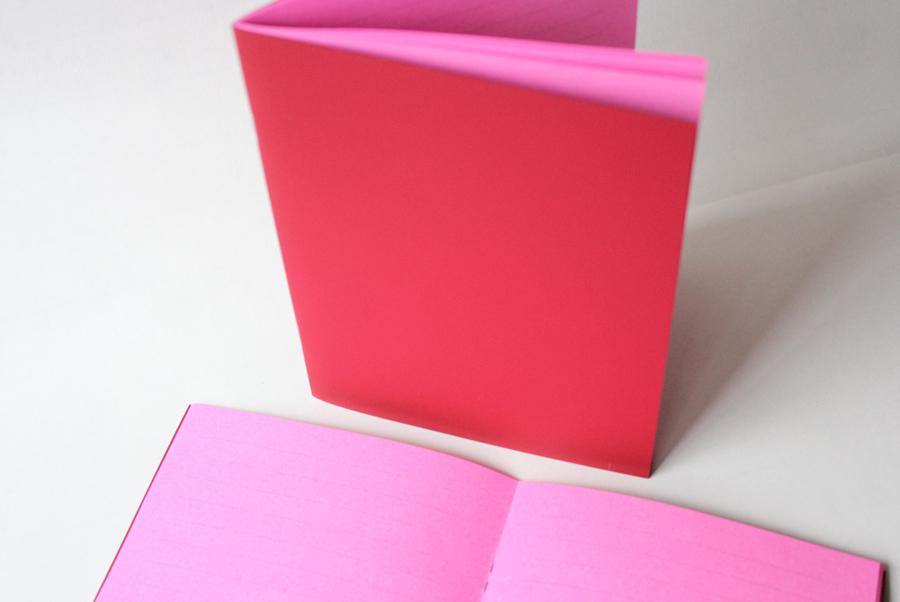 c813b539713f74 Heft rot pink - Schöne Dinge Shop